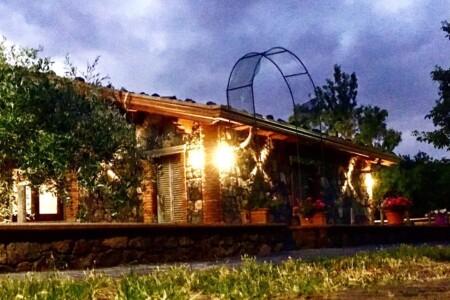 Stupenda baita sull'Etna per 10 persone a Maletto in zona innevata