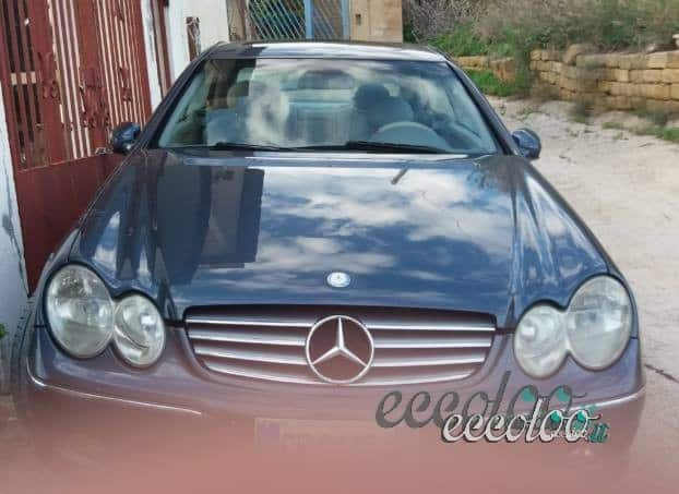 Mercedes clk 270 cdi coupè senza tempo full optional. €.4500
