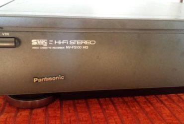 Panasonic NV-FS100 S-VHS high end HIFI Stereo