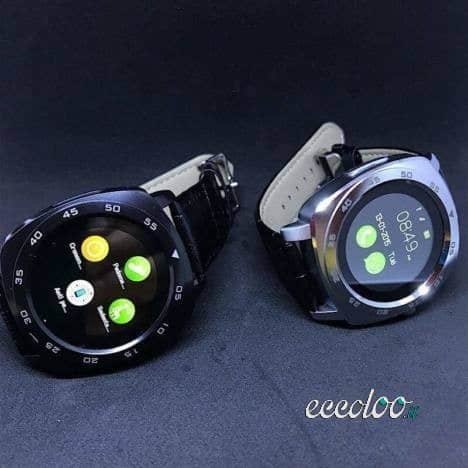 Smartwatch DM88 di colore NERO e SILVER