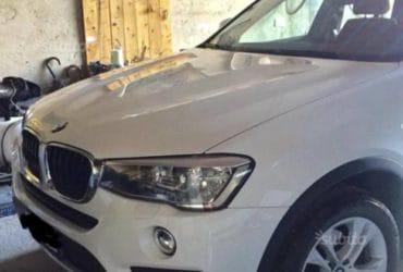 BMW X4 anno 12/2014 di colore bianco