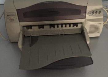 Stampante Deskjet 1220C.