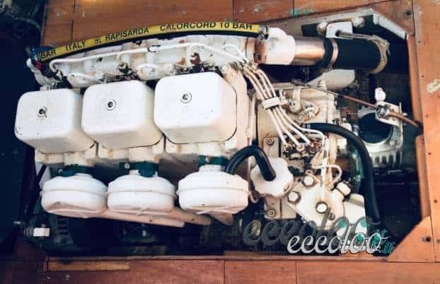 Motore entrobordo Volvopenta 38 cv no patente 40 ore di moto