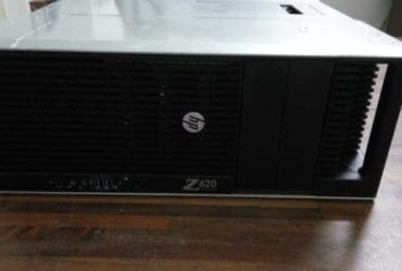 Workstation HP Z620 96gb ram, 2x Intel xeon e5-2670, 4 GPU