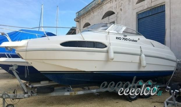 Rio 700 Cruiser strafull plancetta di poppa xxl 200 cv