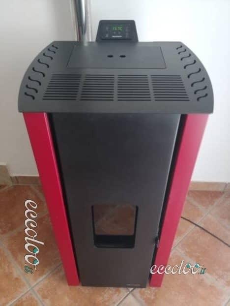 Stufa a pellet Ecofire Malù 9,3 kw ventilata