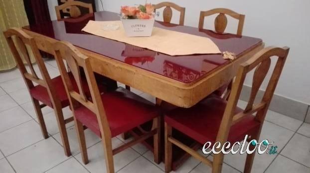 Vendo Credenza Rustica : Vendo credenza tavolo con sedie anni 50 u2022 eccoloo.it