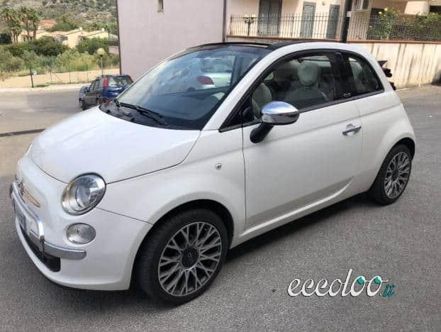 Fiat 500 Cabrio 2013 km 57162 nuova anno 2013