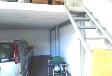 Garage magazzino soppalcato di mq 50, affitto a €.350