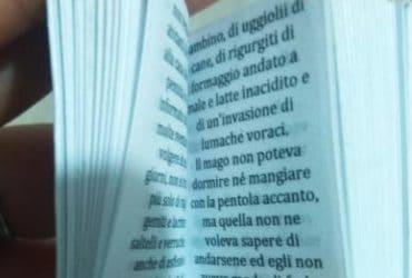 """Libro in miniatura """"Le fiabe di Beda il Bardo"""""""