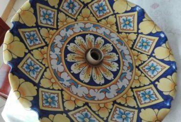 Lampadari in ceramica artigianale ne vendo due €.50