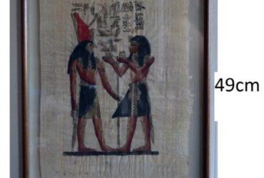 Tre Quadri con papiro egizio 5 euro l'uno