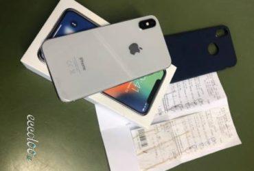 IPhone X 64GB Colore silver ancora in garanzia. €.650