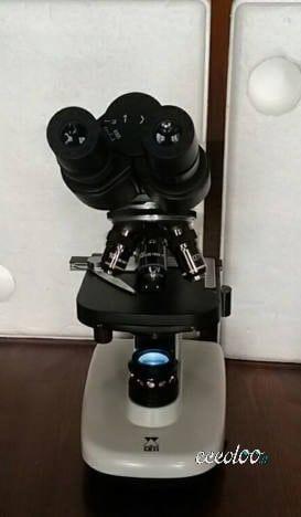 Microscopio  biologico Ceti modello Colt-1100.510. €.400