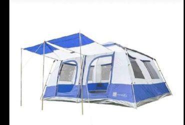Tenda da campeggio con cabine e veranda. €.300 fate offerte!