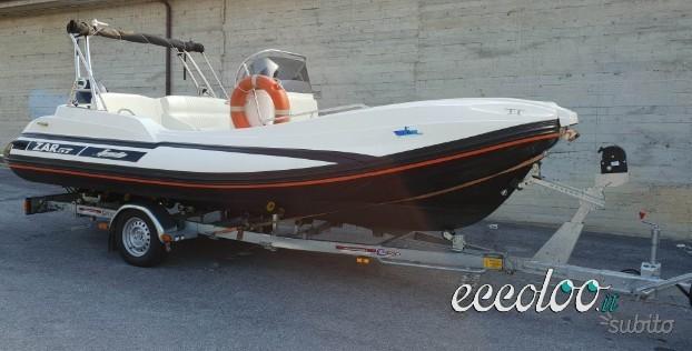 Zar Formenti 57 Well Deck + Suzuki 140 + carrello. €. 36900