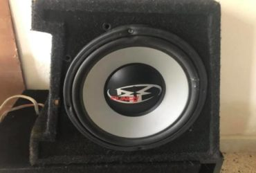 Subwoofer rockford 30cm con box 250w rms €.50,00