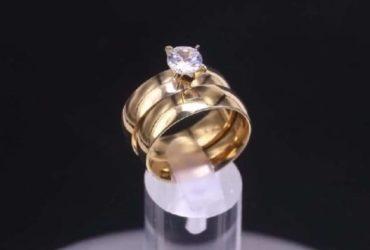 Anelli di vari modelli argento, acciaio, placcati oro