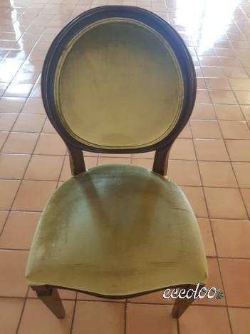 N. 300 sedie in stile classico francese. €. 25 cad