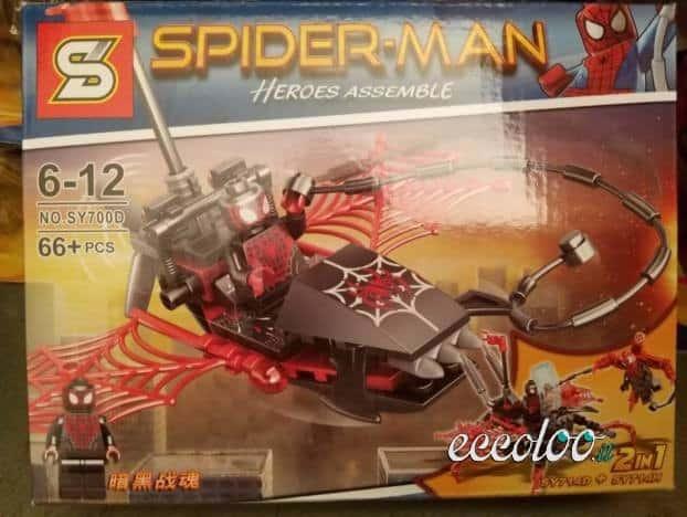 Spiderman costruzioni