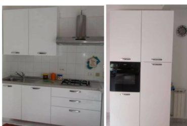 Cucina completa di elettrodomestici usata 6 mesi. 900€