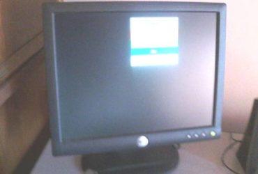 Monitor piatto DELL da 15 pollici. €. 30