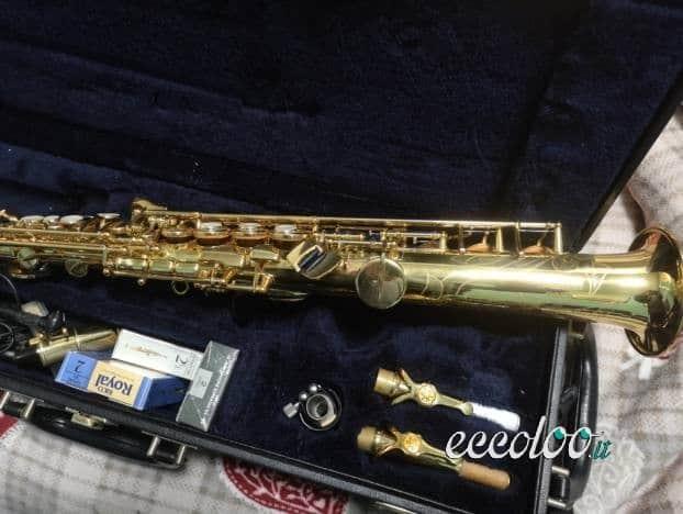 Sax Soprano Yamaha Custom YSS 875. €.2500 tratt.