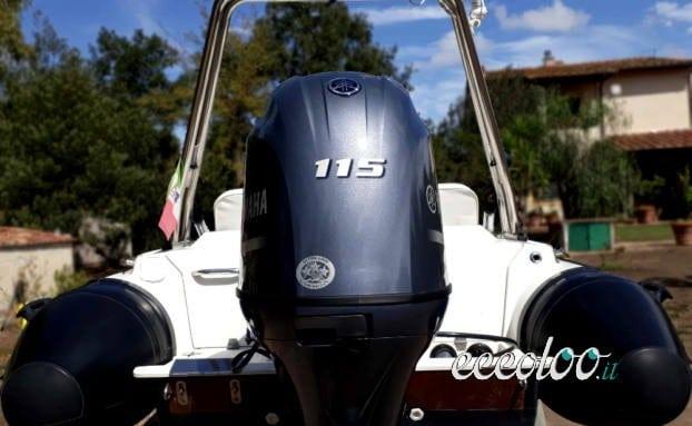 Zar 47 + Yamaha 115hp (2017) + poss. carrello