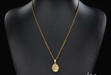 Collane in argento, acciaio, placcati oro