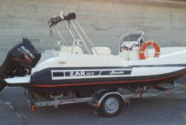 Zar Formenti 57 Well Deck + Suzuki 140 + carrello. €. 36900