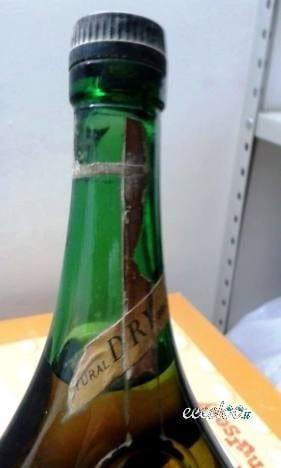 Bottiglie da collezione ( brandy ) integre