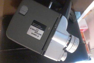 Cinepresa canon motor zoom 8 del 1962 a €. 70