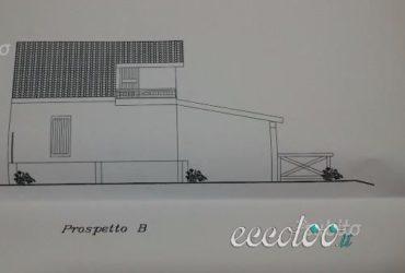 Terreno con progetto villetta approvato. €. 48000