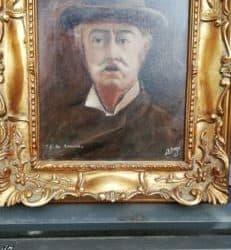 Quadro del pittore Carmelo Russo