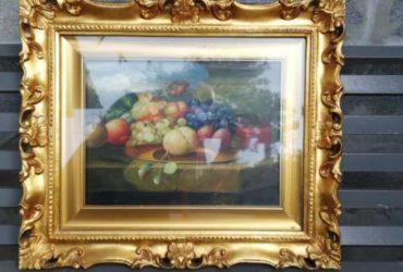 Quadro cesta di frutta