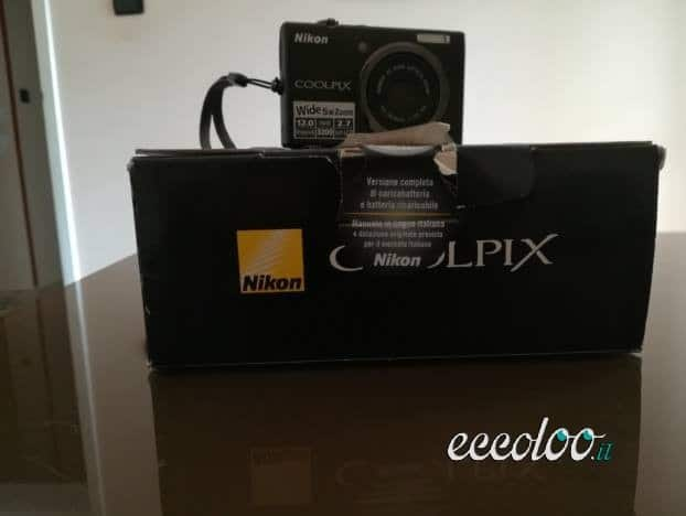 Macchina fotografica nikon coolpix s570. €. 60