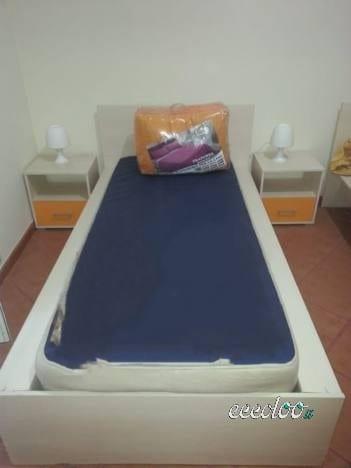 Arredamento per studenti, disponibile per 5 stanze. €. 1100