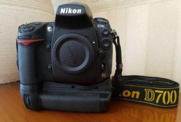 NIKON D700 FX +MB-D10 Nikon grip (NITAL). €. 800