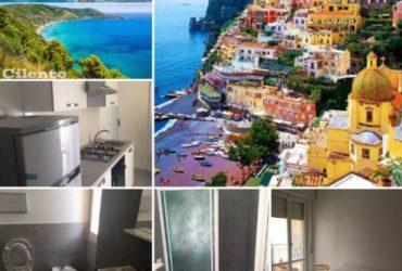 Casa Vacanze Pochi km dalla Costiera Amalfitana e Cilentana. €.250