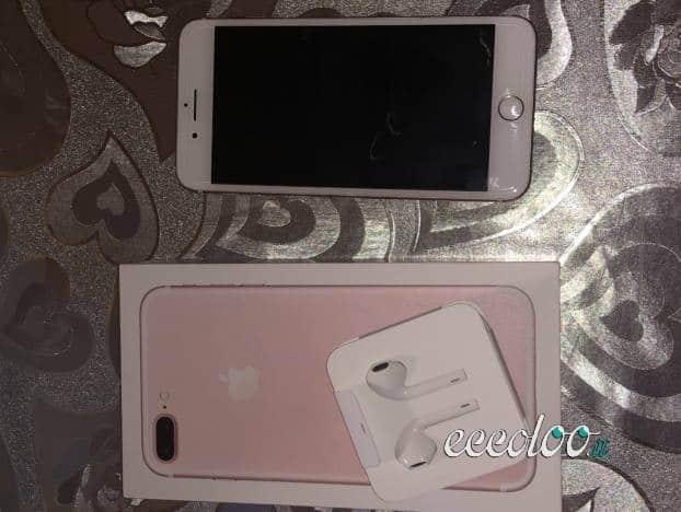 iPhone 7 Plus 128 Gb in perfette condizioni con Cover. €. 450