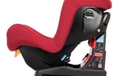 Seggiolone auto Chicco reclinabile di colore rosso