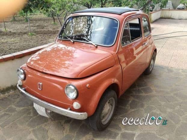 Fiat 500 L targhe nere del 1972. €. 3500