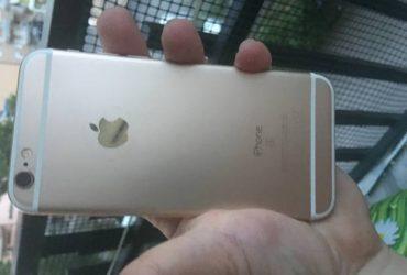 iPhone 6S oro in ottime condizioni. €. 220 tratt.