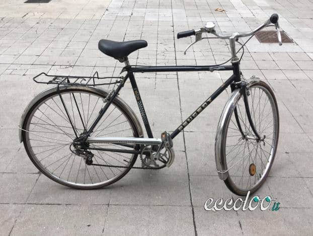 Bicicletta Peugeot Vintage Modello 103 Eccolooit
