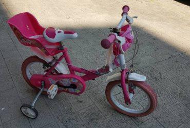 Bici winx rosa per bambina di 3-6 anni. €. 30