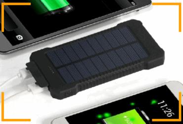 Powerbank ad energia solare! Ovunque tu sia mai più senza carica