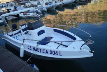 Affitto barca blumax 5.7 a Castellammare del golfo. €. 70