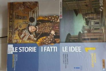Libro storia: I fatti, le storie, le idee 1, liceo coreutico R.Margherita, Palermo €.12,00