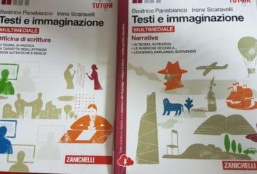 Libro italiano: Testi e immaginazione – liceo Coreutico R.Margherita Palermo. €. 12