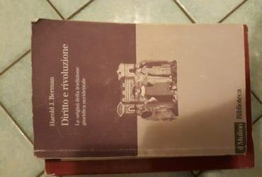 Berman Diritto e rivoluzione. €. 10